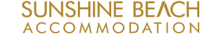 Sunshine Beach Accommodation Logo 1