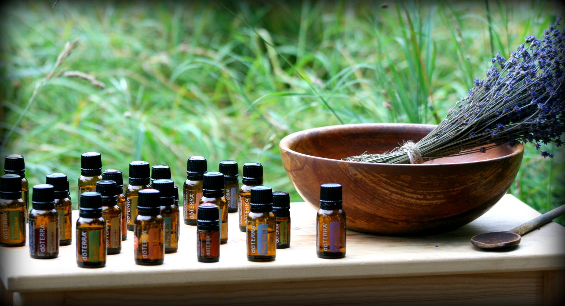 Aromatouch essential oil massage therapy