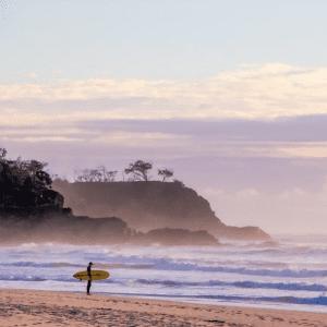 Sunshine Beach Surfing